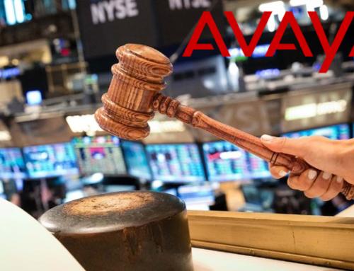 Avaya en la Bolsa de Nueva York